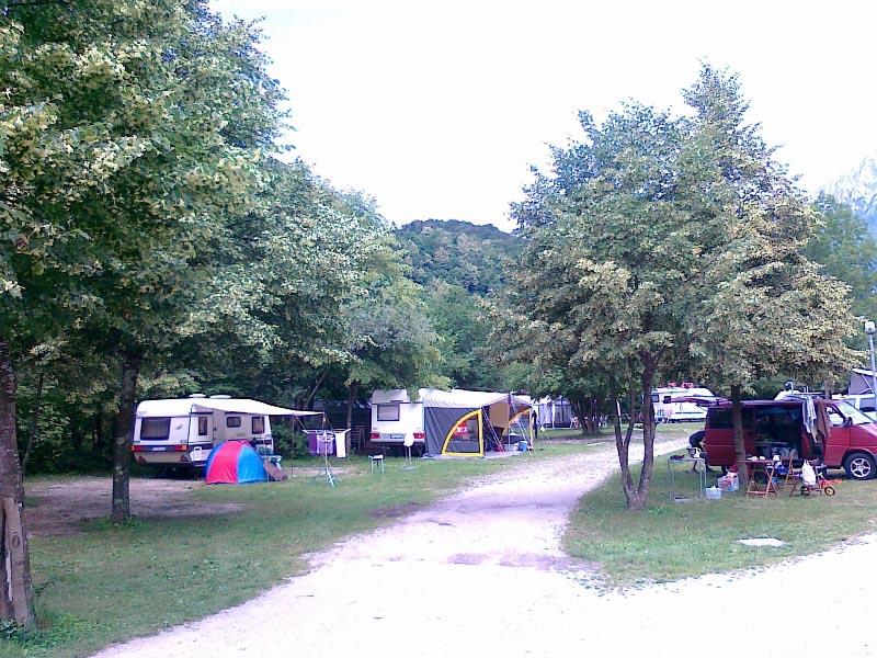 Eco camping in Kobarid, Slovenia