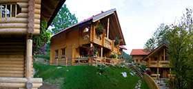 Eco chalets in Slovenia