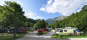Tent sites - eco camping Koren