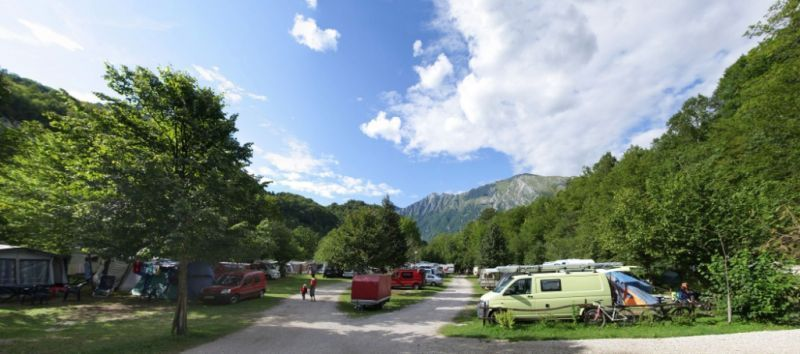Camper and caravan sites