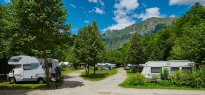 Camper and caravan sites | Camping Koren, Kobarid